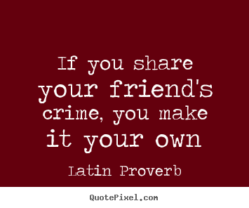 Latin Quotes About Friendship Alluring Friend Quotes In Latin  Quote