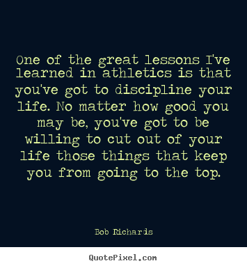 Quotes about inspirational - One of the great lessons i've learned in..