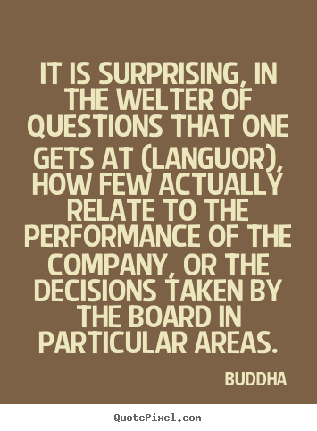 Life quotes - It is surprising, in the welter of questions that one gets at (languor),..