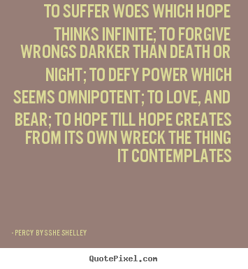 How to make picture quotes about love - To suffer woes which hope thinks infinite; to forgive wrongs..