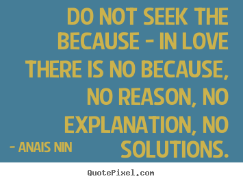 quotes about love with no reason quote